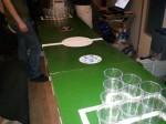 Table de bière pong pliable