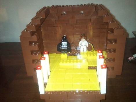Creche lego arduino avec eclairage